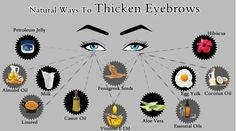 Effective tips to Get Thick Eyebrows overnight. Home remedies to make thin eyebrows thicker. Natural ways to grow thick eyebrows fast. Eyebrow growth serum.