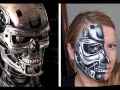 face painting terminator - Google keresés