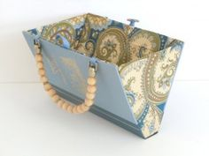 purse made from an old book-this is such a great idea! Wish I would have thought of it!!