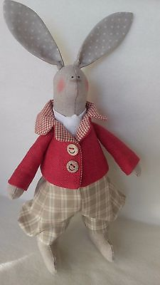 New #handmade #bunny,hare #,tilda bunny,soft doll,  View more on the LINK: http://www.zeppy.io/product/gb/2/272518411180/