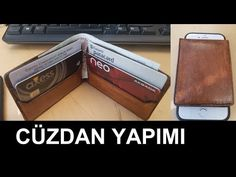 Leather Wallet, Easy Diy, Youtube, Youtubers, Youtube Movies
