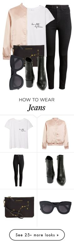 """""""Untitled #4928"""" by laurenmboot on Polyvore featuring H&M, MANGO, Cameo Rose, Etienne Aigner, Very Volatile and CÉLINE"""