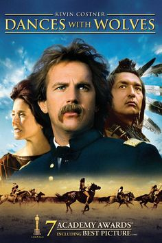 """Dances With Wolves"" A grand, sweeping epic with inarguably noble intentions and arresting cinematography."