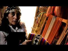 Rosa Quidel y los símbolos en el tejido Mapuche Textiles, Tear, South America, Youtube, Weaving, Lily, Videos, Google, Pink
