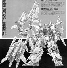Gundam ZZ Armor