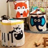 Kidzsupplies   3 Sprouts speelgoedmand vos   Webwinkel voor baby- en kinderkamer decoratie