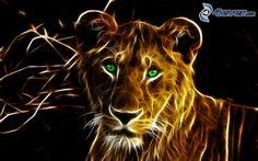 fractal lioness