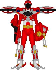 Power Rangers Lightspeed Rescue, Trans-Armor Cycle by Taiko554 on deviantART
