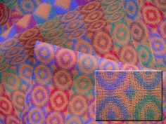Patterned Double Weave Fabric (Sample 4)