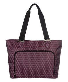 Look what I found on #zulily! Cherry Blossom Jacquard Dahlia Tote by baggallini #zulilyfinds