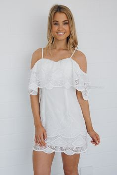emma lace dress - ivory | Esther clothing Australia and America USA, boutique online ladies fashion store, shop global womens wear worldwide, designer womenswear, prom dresses, skirts, jackets, leggings, tights, leather shoes, accessories, fast shipping world wide. – Esther Boutique