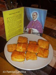 Familia Católica: Libritos con masa de Croissant para la fiesta de San Francisco de Sales - 24 de enero 2011