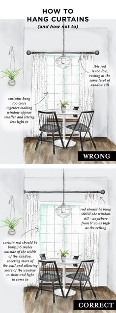 how to select and hang window treatments and how not to with @theshadestore