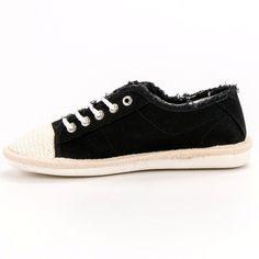 #Espadryle #Damskie #Shelovet #Shelovet #Czarne #Sznurowane #Espadryle Superga, Sneakers, Shoes, Fashion, Tennis, Moda, Slippers, Zapatos, Shoes Outlet
