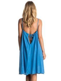 roxy, Phantom Island Tank Dress, PALACE BLUE (bmb0)