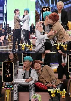 T.O.P and Se7en on Strong Heart