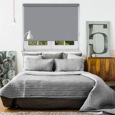 Blackout Bedroom Blinds Enchanting Metro Cloud Grey Blackout Blind  Home Blackout Blinds And The O'jays Inspiration Design