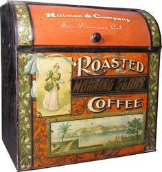 Hillman & Co., San Francisco. Morning Glory Roasted Coffee.