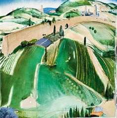 Discover the value of your art. Our database has art auction market prices for Brett Whiteley, Australia and other Australian and New Zealand artists covering the last 40 years sales. Abstract Landscape Painting, Watercolor Landscape, Landscape Art, Landscape Paintings, Green Landscape, Watercolour, Australian Painting, Australian Artists, Madrid