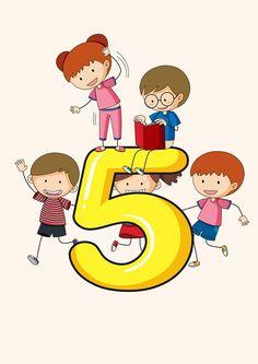 Numbers Preschool, Math Numbers, Preschool Math, Teaching Math, Kids Math Worksheets, Toddler Activities, Preschool Activities, Math Clipart, School Coloring Pages
