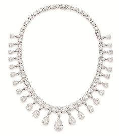 The #Vanderbilt #diamond #necklace #christiesjewels