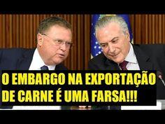 LIVE URGENTE - OS EMBARGOS DE EXPORTAÇÃO DE CARNE DO BRASIL É UMA FARSA!