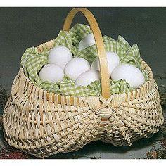 Un uso práctico y ecológico para una #cesta de #mimbre.