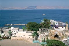 Tiberias on the Sea of Galilee - one of the most beautiful places in the world