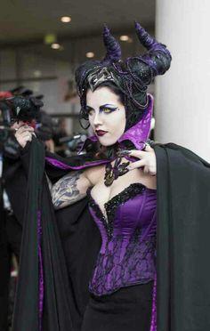 Maleficent [Disney] of - SharcTank Toy Story Costumes, Dress Up Costumes, Cosplay Dress, Cosplay Girls, Cosplay Costumes, Costume Ideas, Halloween Dance Costumes, Disney Costumes, Halloween Fun