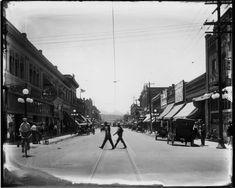 arizona historical photographs | Congress Street - Courtesy of the Arizona Historical Society
