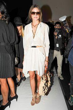 Olivia Palermo - Front Row Fashion - New York Fashion Week Spring 2014 - Harper's BAZAAR