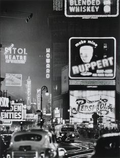 Times Square, 1942, photo by Andreas Feininger   via mudwerks  (by John McNab)