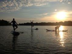 paddle yoga, grand haven