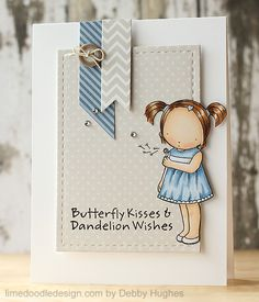 super sweet MFT Pure Innocence card by Debby Hughes