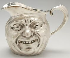 Charming silver pitcher