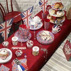 A Diamond Jubilee tea #jubilee