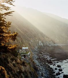 Esalen Institute, spa for mind, body and spirit / inspired by  #LincolnBlackLabel