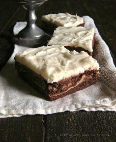 goat cheese brownies  une gamine dans la cuisine More