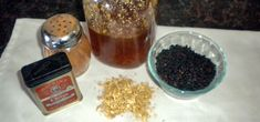 Yay! finally found the perfect recipe for homemade organic elderberry syrup! no colds/flu for us this winter! :)