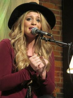 Lauren Alaina performed at The Listening Room Café.~ (February 9, 2015). #SongSuffragettes Photo from Jennifer Kardell's collection.
