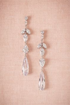 Crystal Marquee Drops by Kenneth Jay Lane from BHLDN