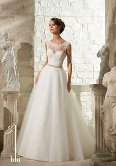 Blu by Madeline Gardner 5315 Wedding Dress - The Knot