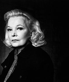 """American actress Gena Rowlands, starred in """"A Woman Under the Influence"""" in John Cassavetes, her husband, directed and wrote the screenplay. Hollywood Glamour, Classic Hollywood, Old Hollywood, Bold And The Beautiful, Beautiful Women, Gena Rowlands, John Cassavetes, Under The Influence, Ageless Beauty"""