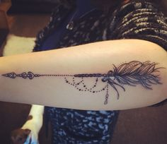 Arrow meaning strength of mind