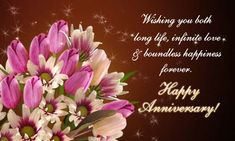 Happy Anniversary Wishes Images and Quotes. Send Anniversary Cards with Messages. Happy wedding anniversary wishes, happy birthday marriage anniversary Marriage Anniversary Wishes Quotes, 1st Wedding Anniversary Wishes, Wedding Wishes Quotes, Anniversary Wishes For Parents, Happy Wedding Anniversary Wishes, Anniversary Cards, Anniversary Greetings, Birthday Wishes, Birthday Cards