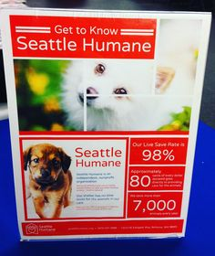 Sooo impressed. 98% save rate!? 3rd in the nation!! Go @seattlehumane #pawty