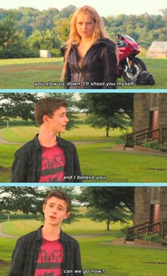Sam and Six are so cute!!! I don't really like the movie, but this is definitely true!!