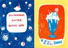 Seven Secret Dishes - Joowon Oh Illustration