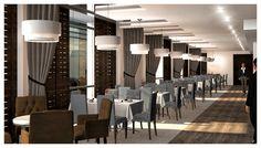 Restaurant Interior Aviation, Conference Room, Restaurant, Interior, Table, Furniture, Home Decor, Decoration Home, Room Decor