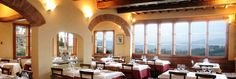 FLORENCE: Trattoria Omero- restaurant overlooking the hills around Florence. highly recommended